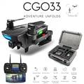 ZWN CG033 бесщеточный FPV Квадрокоптер с 1080 P HD Wifi Gimbal Вертолет камеры складной Дрон GPS Дрон детский подарок