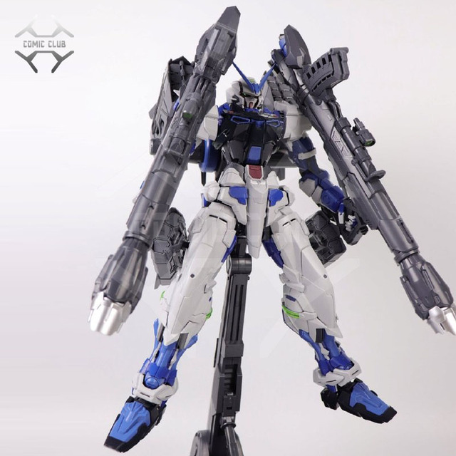 COMIC CLUB IN STOCK in stock Nillson pg 1/60 Gundam seed Astray BLUE Frame with Cannon assembly action figure toy