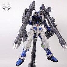 Nillson pg 1/60 figura de acción de Gundam seed Astray, COMIC CLUB en STOCK, Marco azul con ensamblaje de cañón