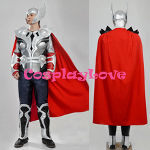 Super Hero The Avengers Thor Odinson Cosplay Costume For Halloween New Custom Made High Quality