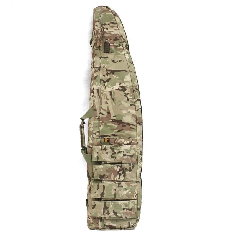 Tático 100cm arma deslizamento chanfro carry bag