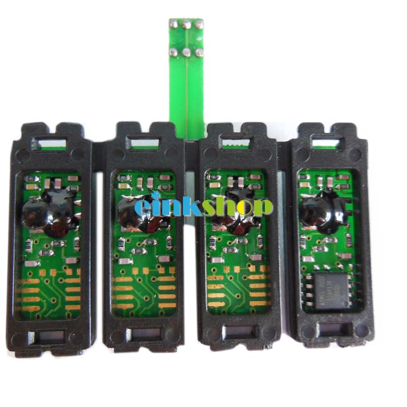 T1281 - T1284 Reset CISS Combo Chip For Epson S22 SX125 SX420W SX425W SX235W SX130 SX435W SX230 SX440W BX305F BX305FW printer einkshop t1291 ink cartridge for epson t1291 t1294 stylus sx230 sx235w sx420w sx440w sx425w sx430w sx435w sx445w printer