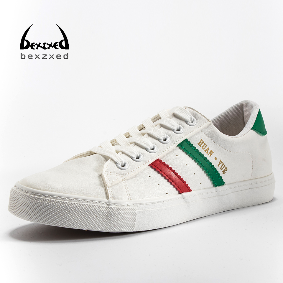 Bexzxed Brand New Style Retro Style Men Shoes High Quality Men Casual Shoes Lace Up Casual