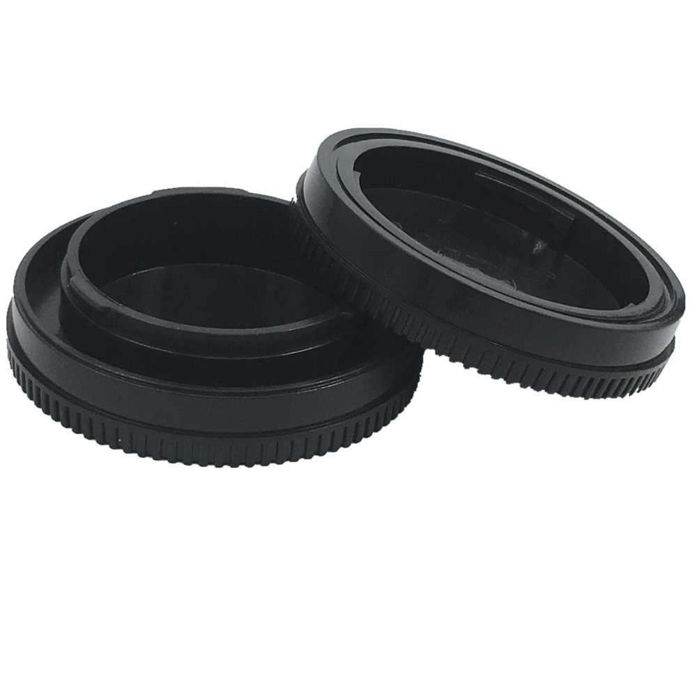 LXH Caméra Avant Capuchon + Bouchon Arrière D'objectif Housse pour Sony Alpha A6500 a5100 a3000 A7Rii A7R A7 NEX-7 NEX-6 5 T 5R E corps De Couverture
