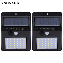 1Pcs Solar Garden Light LED Lamp Motion Sensor Waterproof Outdoor Lighting Decoration Street Lights