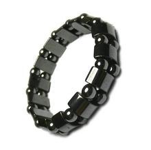 Fashion Charm bracelet Biomagnetic Multi shaped Black Stone Magnetic Bracelet Magnetic Health font b Weight b
