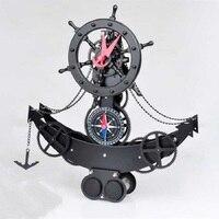 Metal+ABS digital table clock alarm clock vintage watches reloj klok home decor electronic desk clock automobile clocks