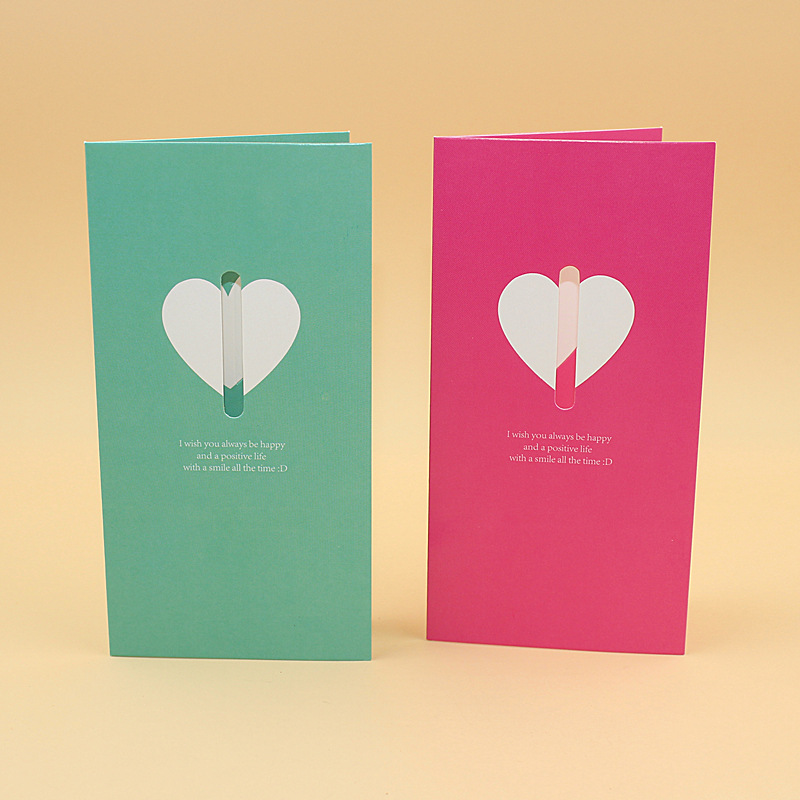 20 pieceslotleiso brand creative diy custom holiday folding 20 pieceslotleiso brand creative diy custom holiday folding greeting card colorful heart wing wish cards with envelope in cards invitations from home m4hsunfo
