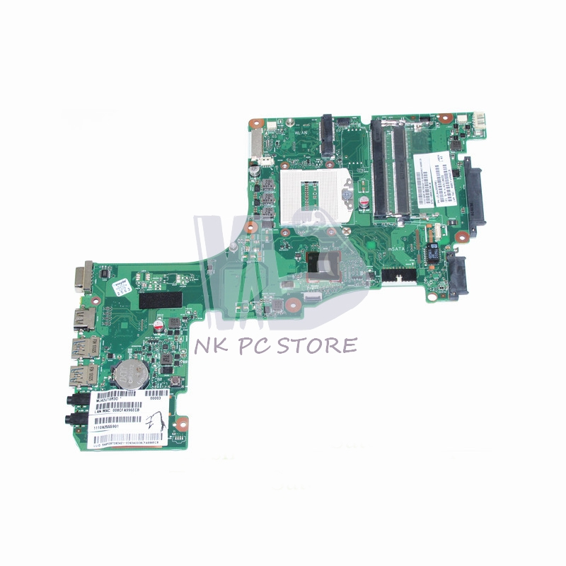 NOKOTION V000318010 Main Board For Toshiba Satellite L55 L55-A Laptop Motherboard 1310A2555901 HM86 GMA HD4400 DDR3L nokotion laptop motherboard for toshiba satellite a300 a300d v000125610 intel gm965 integrated gma 4500mhd ddr2