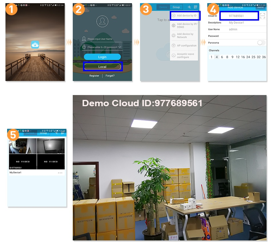 Hiseeu 8CH Wireless CCTV Security System 28