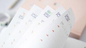 Image 5 - Koreańskie Kawaii uroczy kwiat terminarz tygodniowy miesięczny roczny planer organizer notatnik Kawaii Agenda 2019 sklep papierniczy