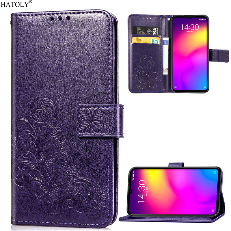 Meizu Note 9 Case Leather Cover For Meizu Note 9 Flip Leather Wallet Case Soft Cover Stand Phone Bag Case For Meizu Note 9