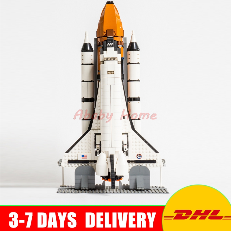 2017 Lepin 16014 out of print Shtttle Expedition Spaceship Building Blocks Bricks Set Toys Gifts Clone 10231 factory lepin blocks expedition spaceship diy building toys space shuttle model toy kids gifts children educational toys 16014
