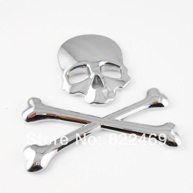 D DIY Car Decal Skull Bone Sticker Emblem Badge Logo Maker Devil - Cars decal maker