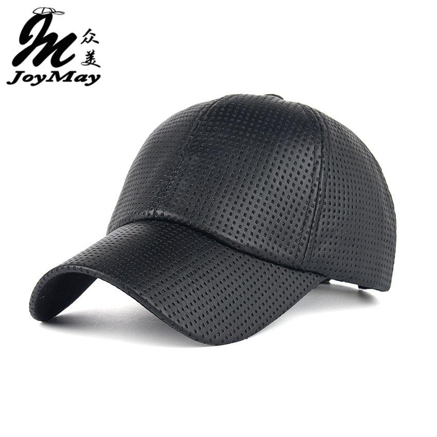 fe8167ae Cool!new fashion PU Breathable Warm Baseball Cap women Hats For men Trucker  cap Sports snapback winter hat for women B357-in Baseball Caps from Men's  ...