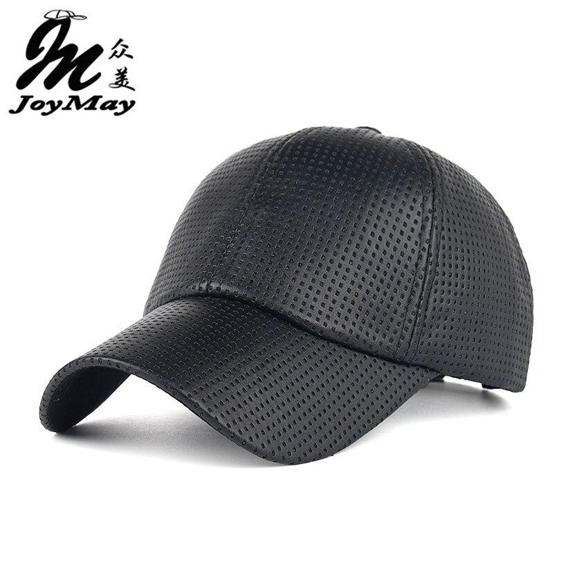 Prix pour Cool! nouveau mode PU Respirant Chaud Baseball Cap femmes Chapeaux Pour hommes chapeau de Camionneur snapback chapeau d'hiver pour femmes B357