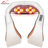 Colourfulcat Massage Cape Heating Electric Massager For Neck Back Head Waist Leg Body Shawl Machine Slimming
