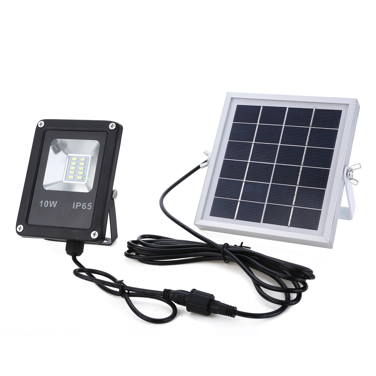 10W LED Solar Sensor Lamp Floodlight Light Waterproof IP66 Outdoor Emergency Security Garden Street Solar Light