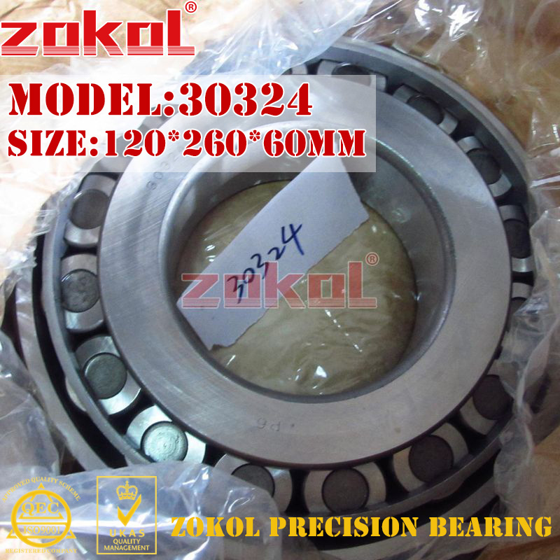 ZOKOL bearing 30324 7324E Tapered Roller Bearing 120*260*60mm bartonsteel bs 7324