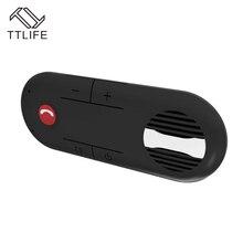 Ttlife портативный беспроводной bluetooth спикер мини-динамик громкой связи car kit поддержка воспроизведения музыки и голосовая навигация для водителя