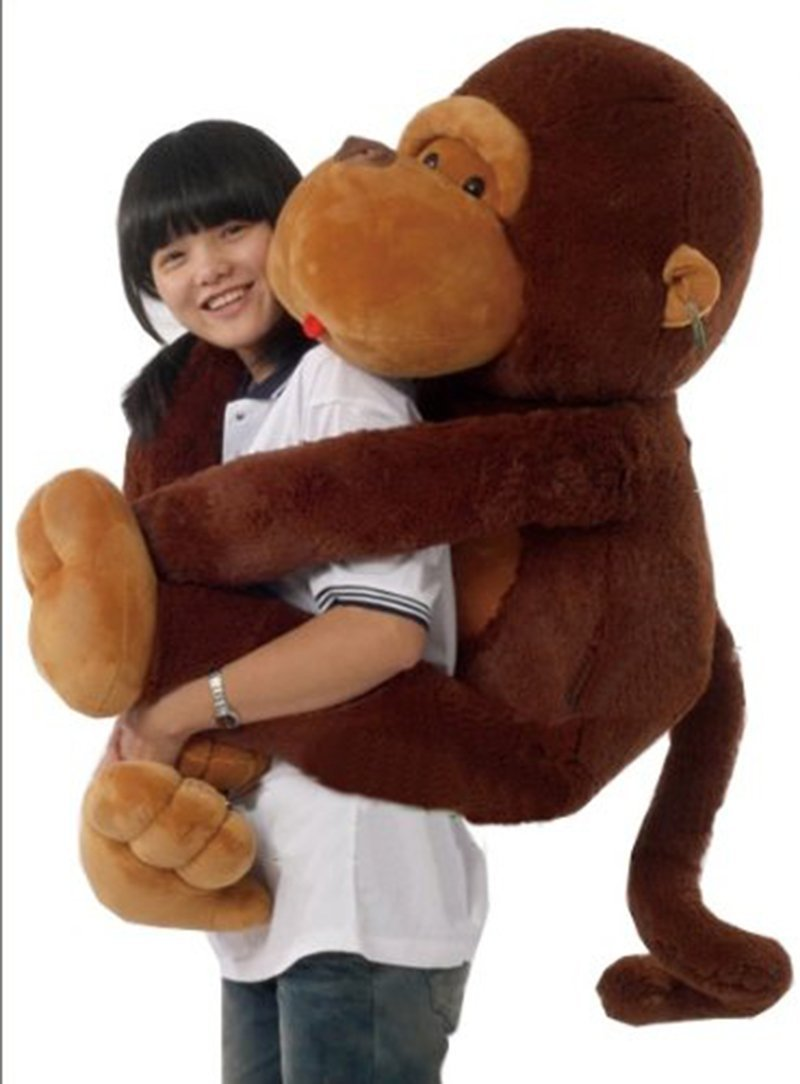 Joyfay 43'' 110 cm Giant Monkey Gorilla Huge Stuffed  Animal Huge Fat Toy Birthday Valentine Anniversary Christmas gift archie giant comics 75th anniversary book
