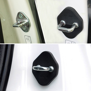 Image 4 - For Toyota RAV4 2013 2014 2015 2016 2017 2018 Door Lock Cover Arm Checker Stopper Buckle Case Guard Decoration Car Accessories