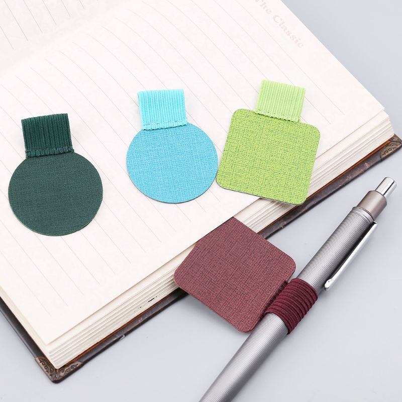 8pcs Self-adhesive Leather Pen Clip Pencil Elastic Loop For Notebooks Journals Clipboards Pens Holder Round/Square8pcs Self-adhesive Leather Pen Clip Pencil Elastic Loop For Notebooks Journals Clipboards Pens Holder Round/Square