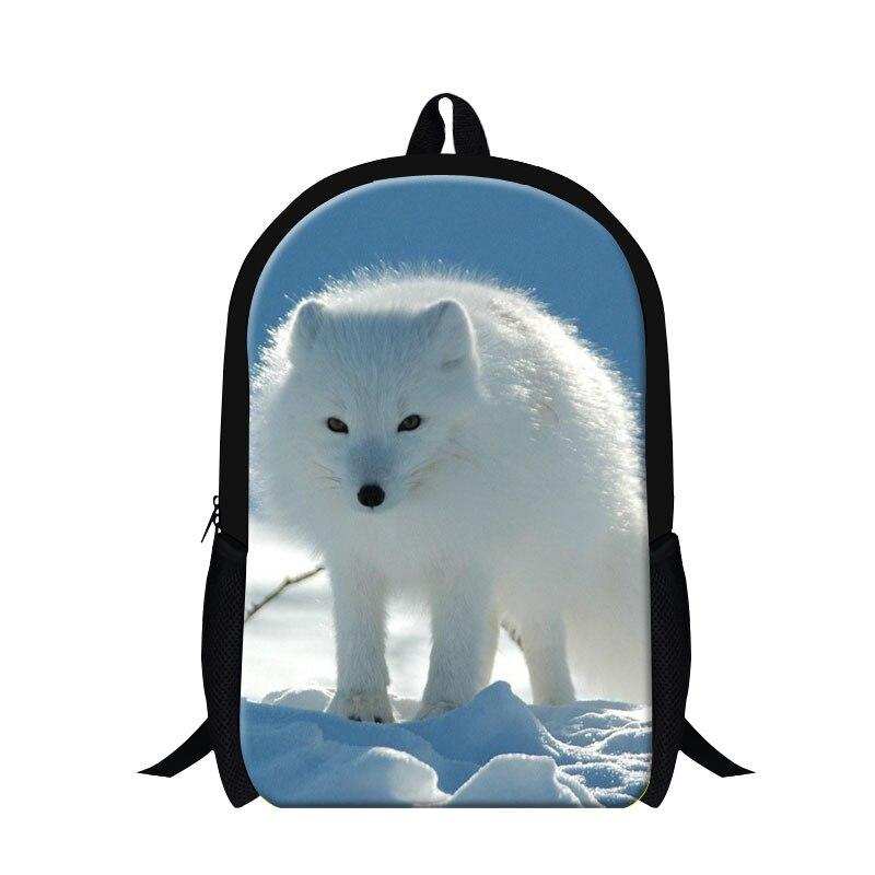 Dispalang персонализированные лиса рюкзаки для учащегося начальной детей школьные сумки для девочек-подростков, милые животные Back Pack женские д...