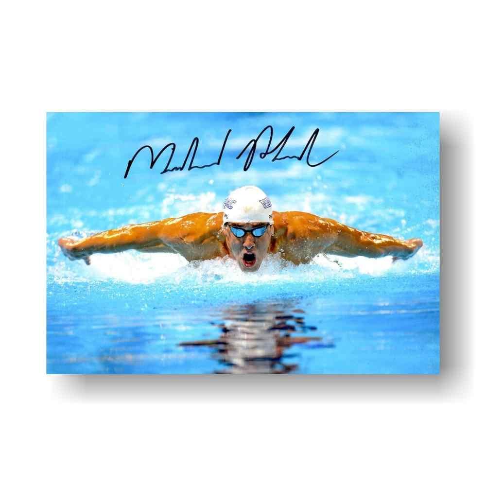 De Meer Je Droom-Michael Phelps Citaat-Motivatie Klaslokaal Poster 24x36 inch