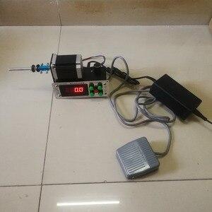 Image 1 - בקרה דיגיטלית אוטומטי נמוך מהירות משתנה אוטומטי צעד מנוע שנאי סליל מתפתל מכונת 2 כיוונים חוט המותח