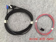 Use for RCD510 RNS510 RNS315 JETTA MK6 RGB Rear View Reversing Camera harness Cable wire