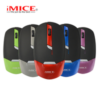 High Quality USB 2 4GHz Wireless Mouse Ultra Thin Portable 4D Slim Mice For Laptop Notebook