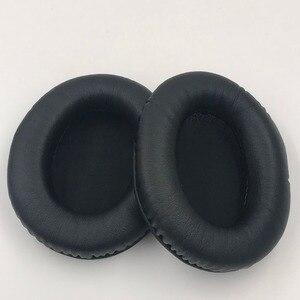 Image 1 - 耳パッドプロテインレザー交換用イヤーパッドキングストン HyperX クラウド II ヘッドフォンソフトクッションイヤーパッド良質 1 ペア