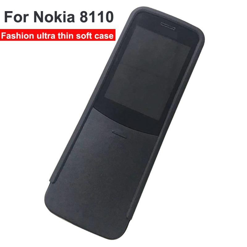 For Nokia 8110 Case Case Matte Soft Silicone TPU Case for Nokia 8110 4G Patterned Phone Cases For Nokia TA-1059 coque