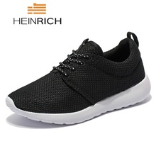 HEINRICH Mens Sneakers Casual Mesh Breathable Outdoor Walking Couple Shoes Tenis Masculino Esportivo Krasovki Men Zapatos Hombre