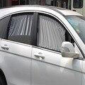 Cobertura automóvel 50L Cinza Suave Cortina Protetor Solar Sombra Sombrinha Viseira Janela Do Carro Cortina de Proteção UV