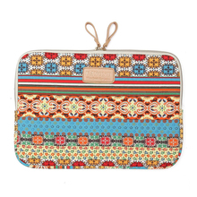 KAYOND 14″ Bohemian Canvas Laptop computer Sleeve Case Bag for Apple HP DELL Toshiba ASUS Acer