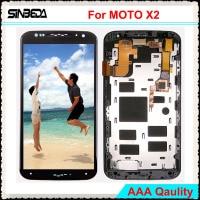 Sinbeda 100 Guarantee For Motorola MOTO X2 XT1092 XT1095 XT1097 LCD Screen Display Touch Screen Digitizer