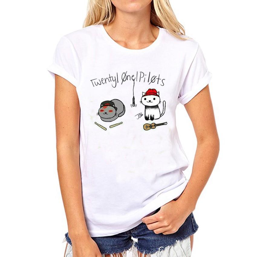 HTB1fx27OFXXXXXdaFXXq6xXFXXXp - Twenty One Pilots T Shirt Summer Short Sleeve