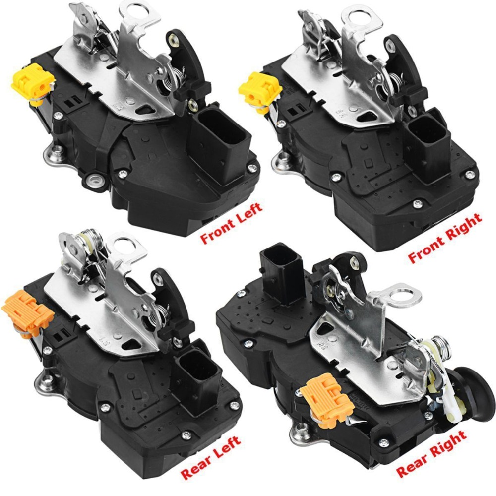 4SIDES FRONT REAR LEFT RIGHT SIDE DOOR LOCK ACTUATOR FOR CHEVROLET SUBURBAN 1500 SILVERADO CADILLAC ESCALADE GMC