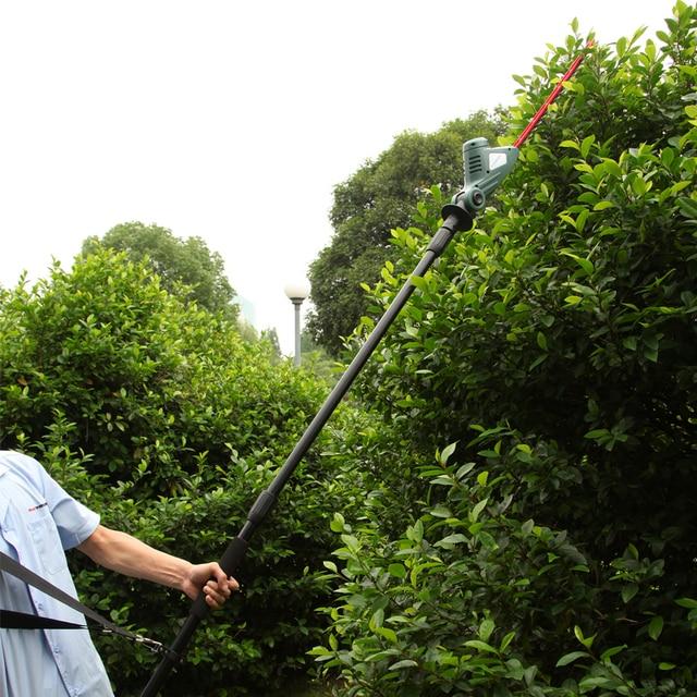 EAST jardin outils 18 V Li ion batterie sans fil pôle taille haie d ...
