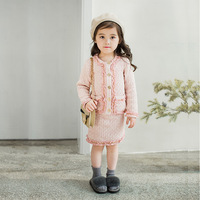 Clothes for Children Girl Set Kids Girls Outfits Spring Autumn Children Outerwear Jackets for Girl Skirts Sets Children Clothing