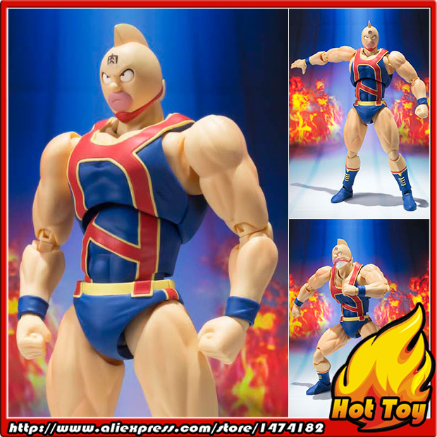 100% Original BANDAI Tamashii Nations S.H.Figuarts (SHF) Action Figure - Kinnikuman (Ouisoudatsu Hen Ver.) from Kinnikuman 100% original bandai tamashii nations s h figuarts shf exclusive action figure garo leon kokuin ver from garo