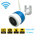 Ao ar livre Ip Câmera de Visão Noturna à prova d' água IP66 câmera de segurança Em Casa suporte cartão SD ONVIF 2.0 720 P HD