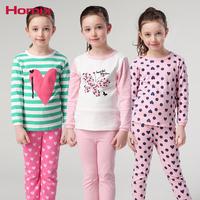 Kids Girls   pajamas     Sets   Pyjamas Kids 3-12 Years Long Sleeve Pijamas Kids Nightwear Baby Girl Clothes Children Clothing