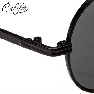 Image 5 - CALIFIT Pilot Classic Men Optical Prescription Glasses Myopia Vintage Oversized Degree Progressive Photochromic Glasses Male