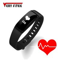 Smart Wristband Blood Pressure Bracelet Heart Rate Fitness Tracker Pedometer Bluetooth Watch For iOS Android Phone Fit Bit Band