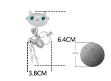 Sunglasses Cat Brooches For Women