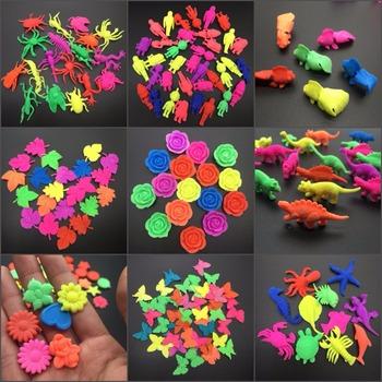 50 g partia Colorflul Sea Animal Rose kształt motyla EVA dorastanie zabawki dla dzieci zabawki akwarium Home Decor SJ-EVA tanie i dobre opinie Kryształ gleby