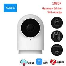 Orijinal Aqara kamera G2 kamera akıllı ağ geçidi Hub ağ geçidi ile fonksiyonu 1080P 140 derece görüş Mi ev APP için akıllı kiti